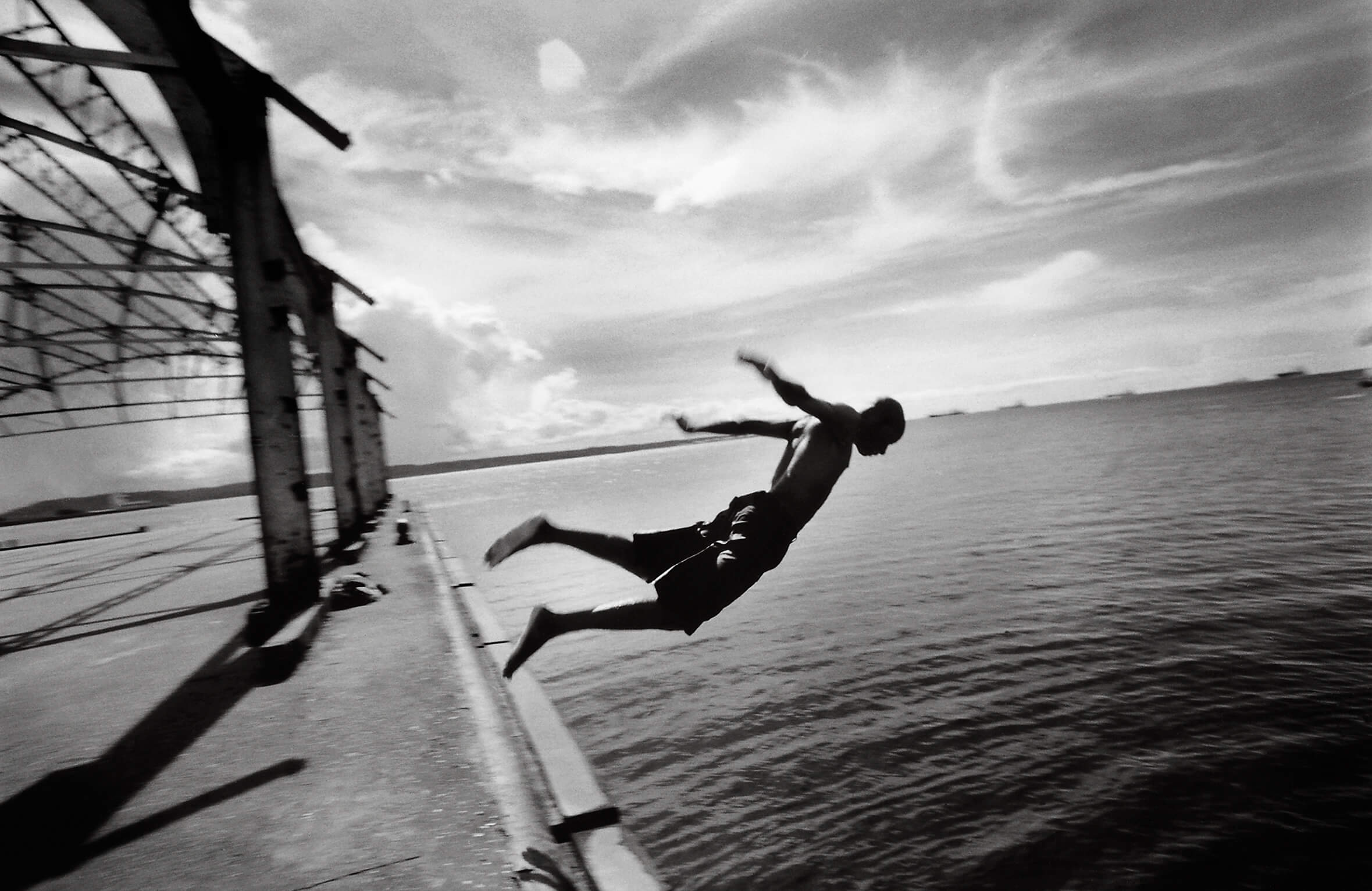 Abigail Hadeed, Dive Canal (1998), from the R_C book, Pictures from Paradise